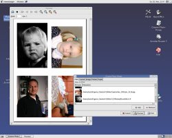 Screenshot of GNOME Photo Printer