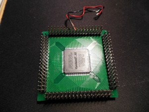 Altera FPGA board front view.