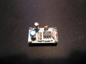 MC34063 board front view