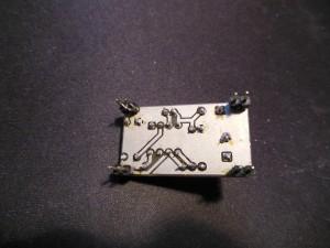 MC34063 board back view